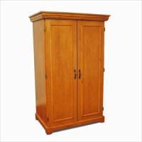 Wardrobe Closet: Wood Wardrobe Closet Home Depot