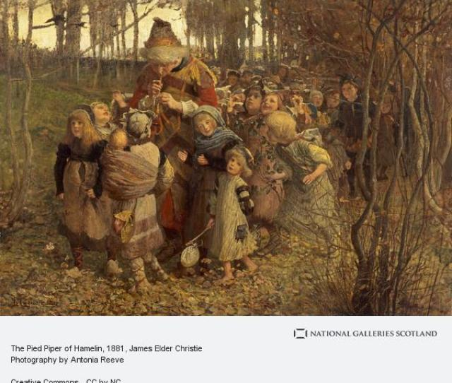James Elder Christie The Pied Piper Of Hamelin