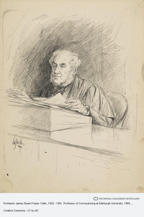 Professor James Stuart Fraser Tytler 1820 1891