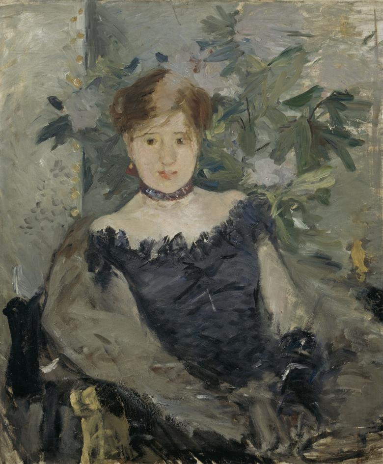 Le Corsage Noir Berthe Morisot 1841-1895 National