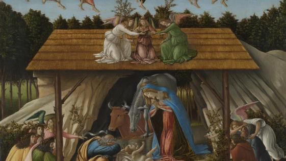 Sandro Botticelli | 'Mystic Nativity' | NG1034 | National Gallery, London