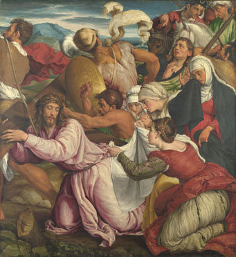 The Way to Calvary, Jacopo Bassano