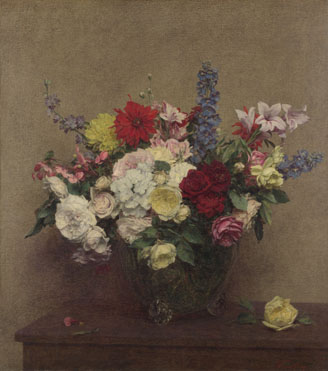 Ignace-Henri-Théodore Fantin-Latour, 'The Rosy Wealth of June'