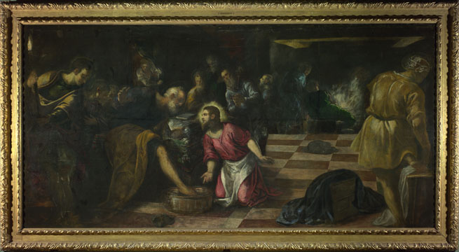 Christ Washing the Feet of the Disciples, Tintiretto