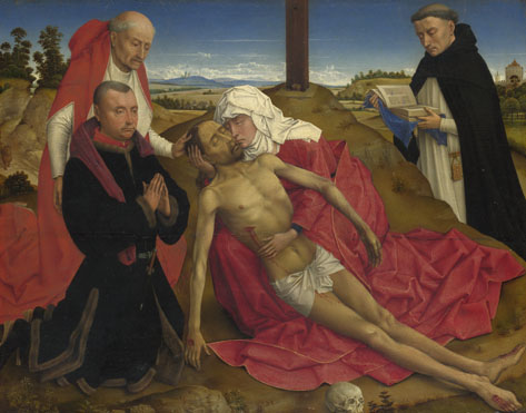 Pieta, Workshop of Rogier van der Weyden