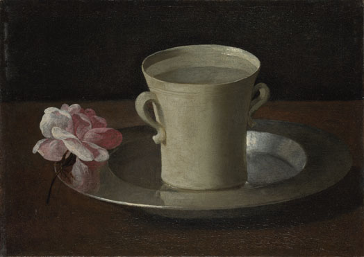 http://www.nationalgallery.org.uk/paintings/francisco-de-zurbaran-a-cup-of-water-and-a-rose