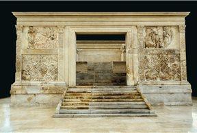 El monumento al emperador