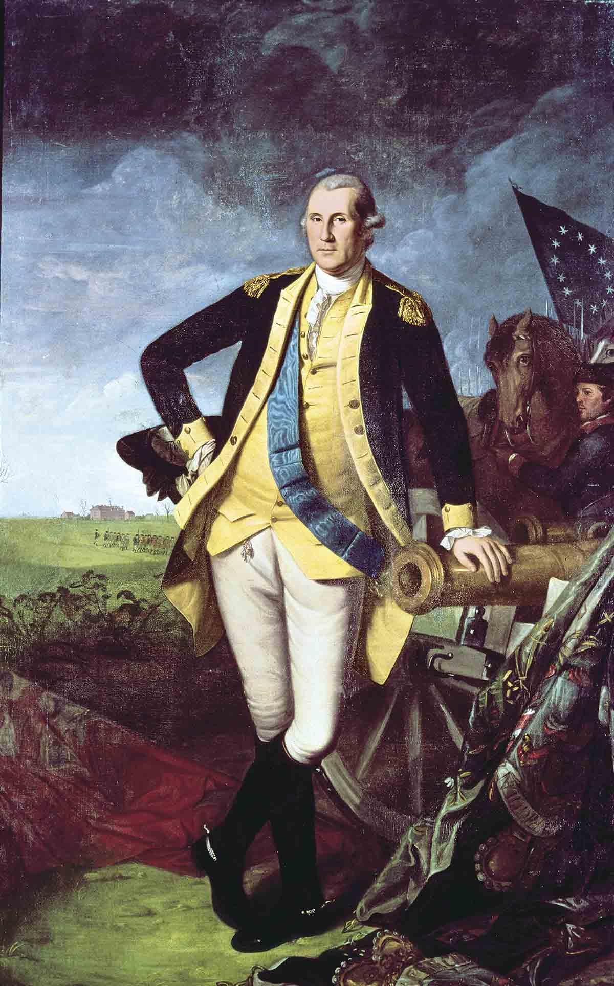 George Washington El Heroe De La Independencia De Estados