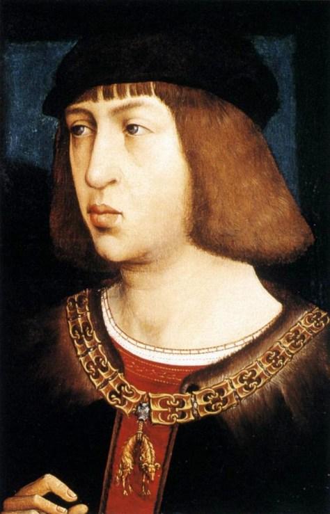 Felipe el Hermoso Retrato atribuido a Juan de Flandes, Siglo XV