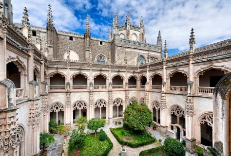 Monasterio de San Juan de los Reyes, en Toledo.