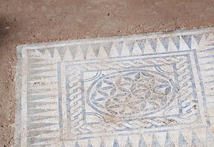 Nuevos Mosaicos Romanos Afloran En Badalona