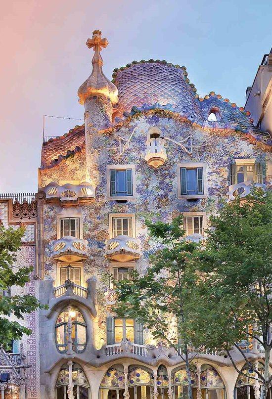Monumentos Patrimonio de la Humanidad en Barcelona