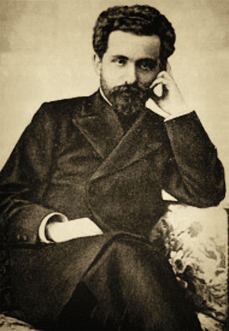 06 nikolai marr arqueologo yacimiento ani armenia. Retrato de Nikolai Marr