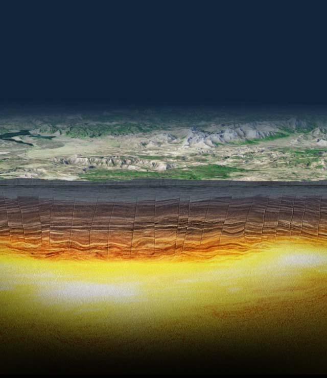 Inside Yellowstone S Supervolcano