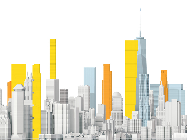 Vertical Office Diagram Template What New York Could Look Like In 2020 National Geographic