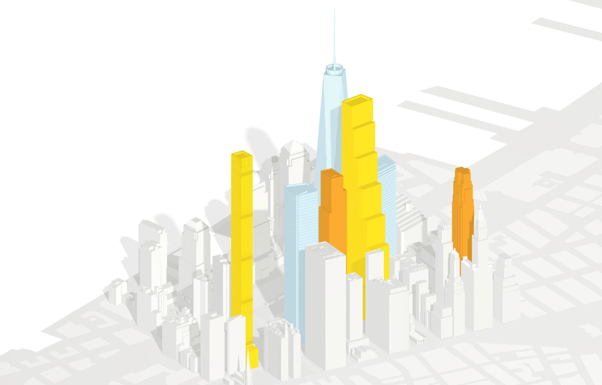 hight resolution of skyline diagram