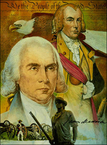 Col. James Madison of the Virginia Militia, Citizen Soldier – National Guard image