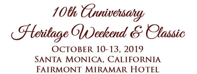 2019 Heritage Weekend & Classic