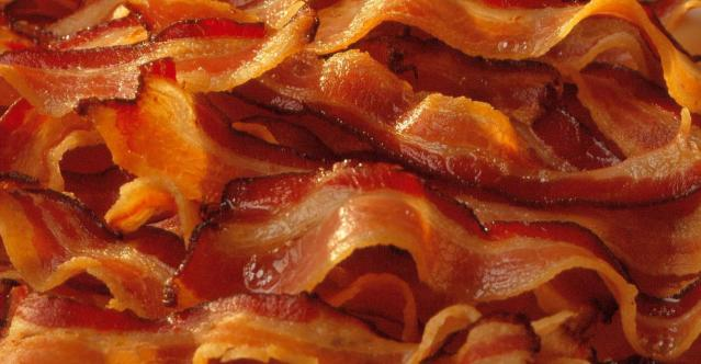 tons of bacon