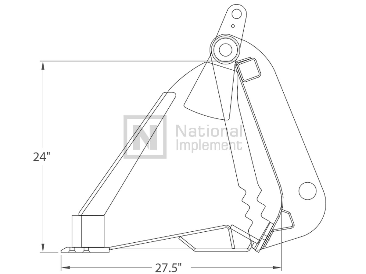 76 Construction Attachments Extreme Duty High Capacity 4