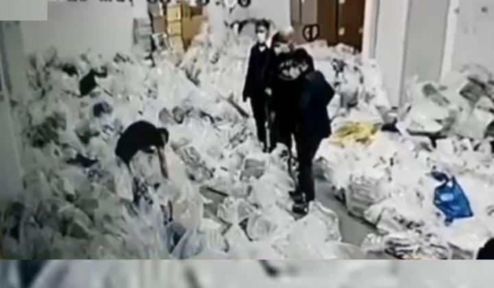 FRAUDĂ ELECTORALĂ surprinsă pe video