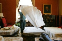 Bring Cots. Senate Throwing Slumber Party