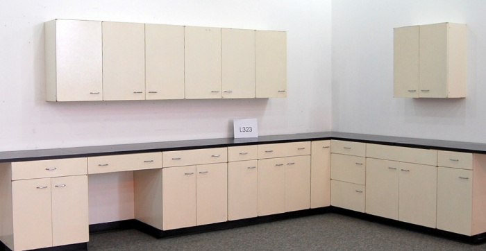 Laboratory Lab Cabinets  Casework 18 Base  11 Wall  NLS