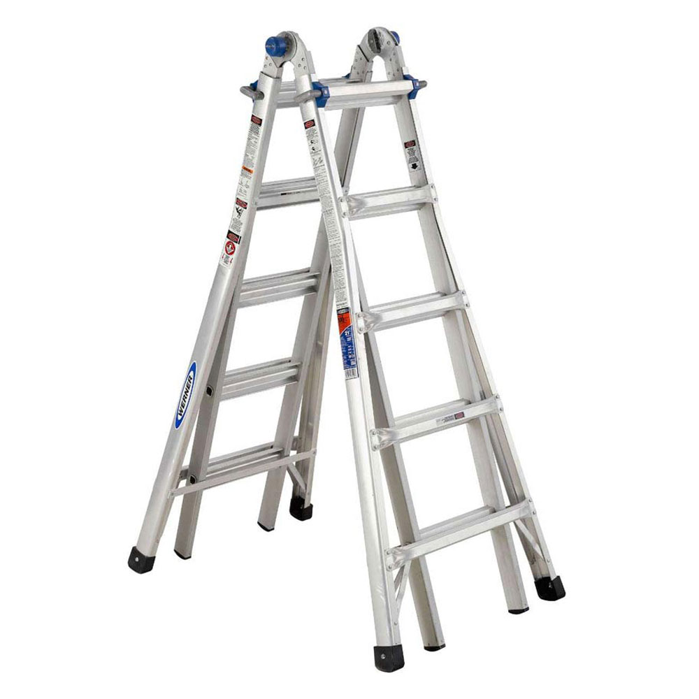 Werner Aluminum Extension Ladders
