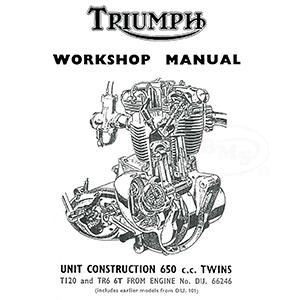 Triumph 1963 to 1969 Workshop Manual unit construction