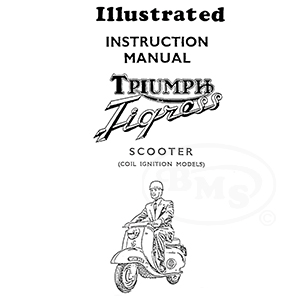 Triumph 1964 Instruction Manual 175cc 2 stroke & 250cc 4