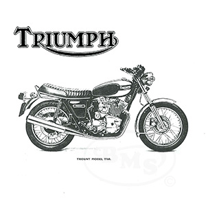 Triumph 1975 to 1977 Workshop Manual for T160 Trident