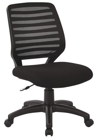 ofm posture task chair vanity with mirror and delta seating dsc-m822 mesh computer office