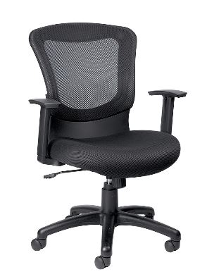 ofm posture task chair ergonomic back support cushion eurotech eur-mt7500 marlin mesh