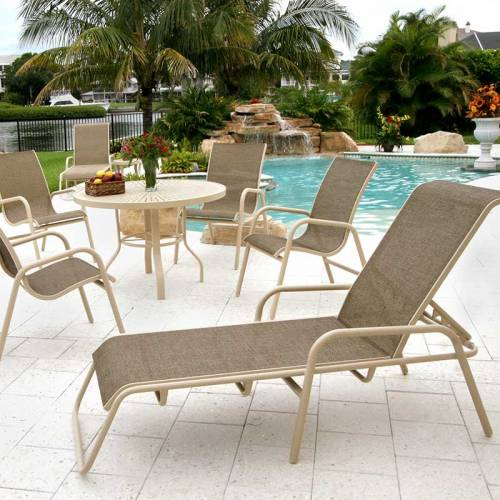 sling chair outdoor west elm saddle office commercial patio furniture national inc