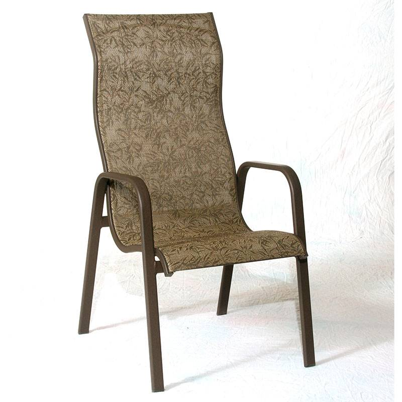 Siesta High Back Stacking Sling Chair