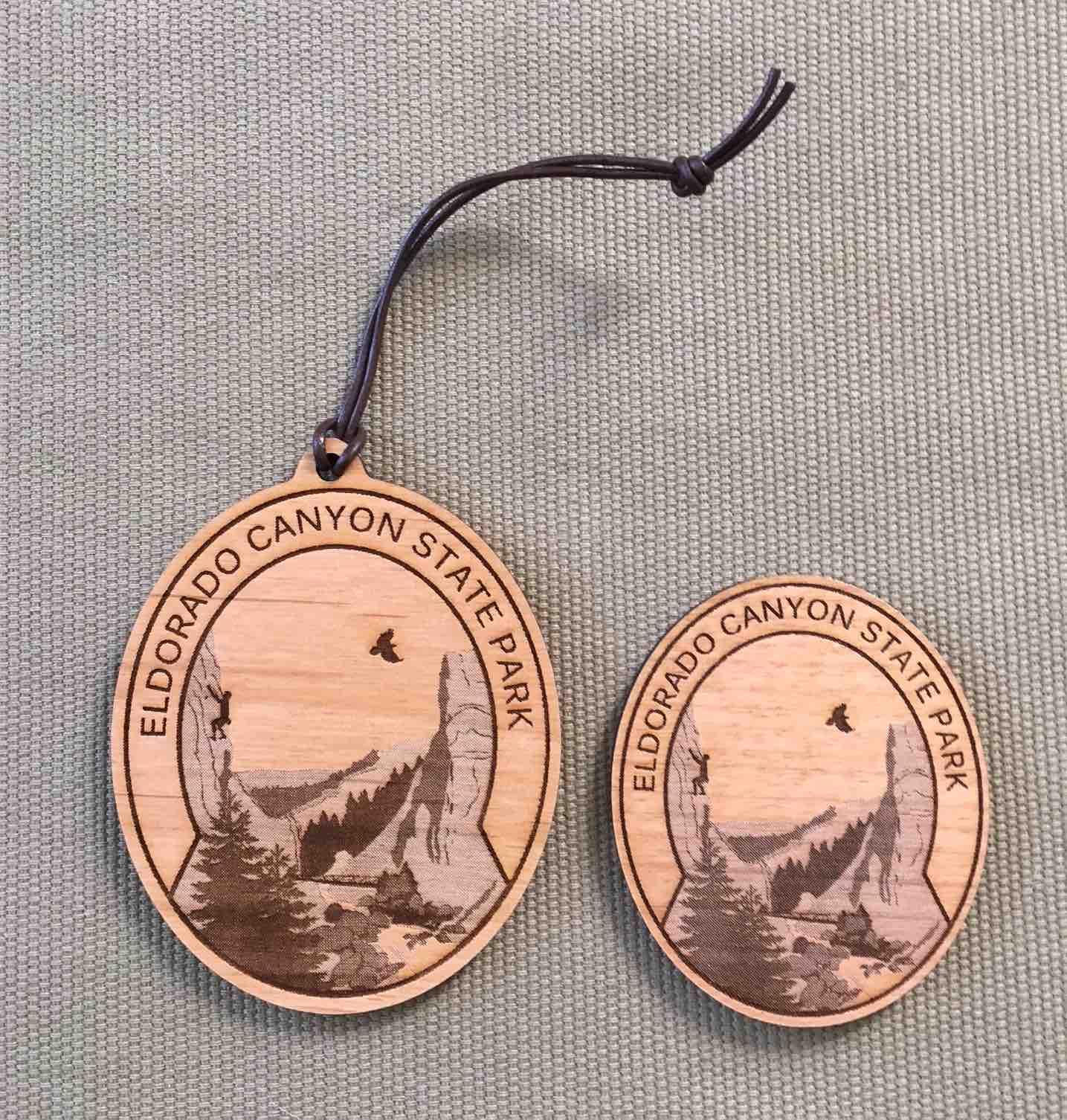 Eldorado Canyon State Park Ornament & Magnet