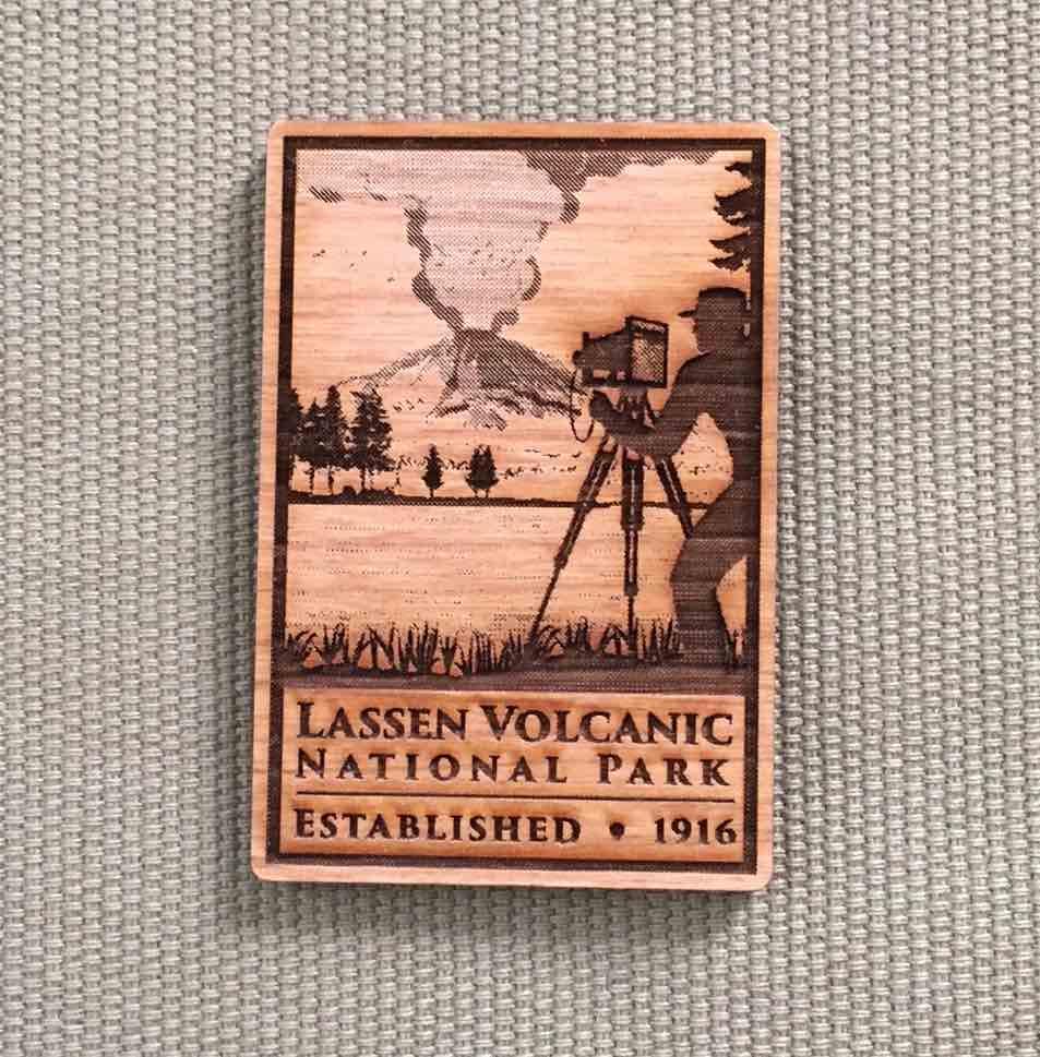 Lassen Centennial Magnet