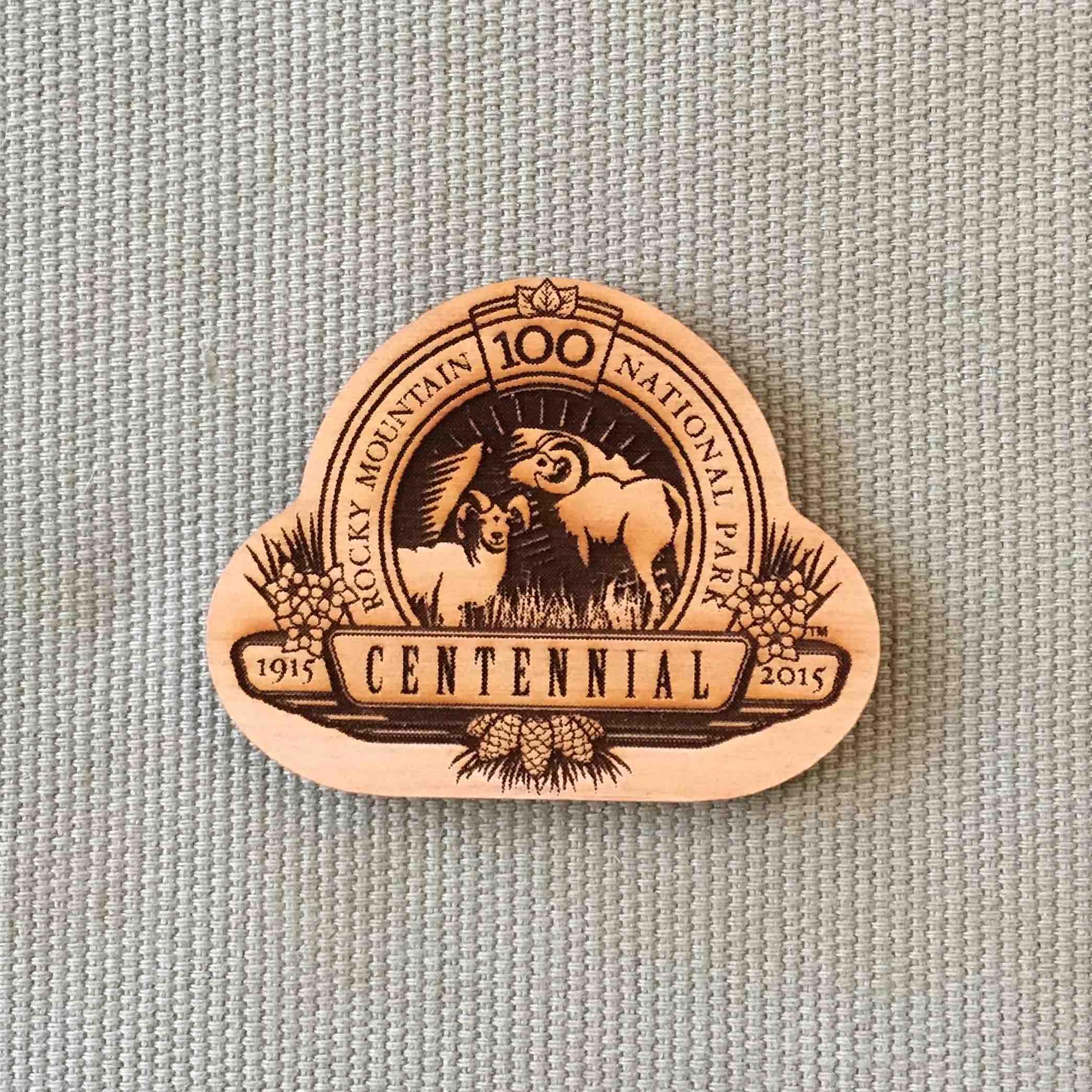 RMNP Centennial Magnet
