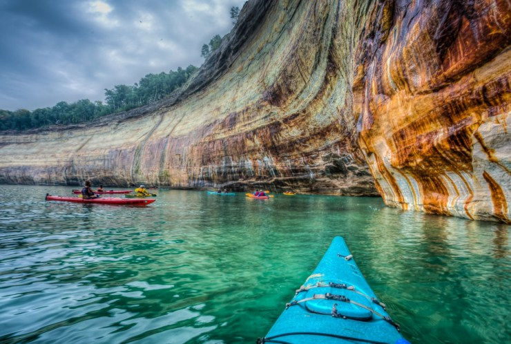 Pictured Rocks National Lakeshore. Photo courtesy of the National Parks Service - The Awesome Mitten