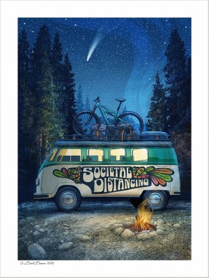 "The ""Societal Distancing"" print, National Park Art"