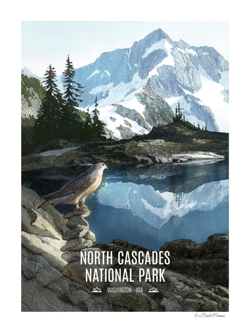 North Cascades National Park Print