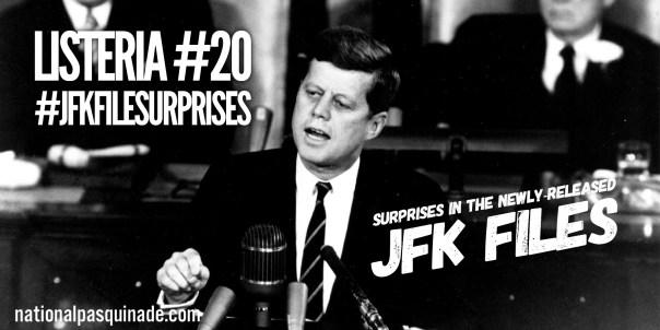 #JFKFileSurprises