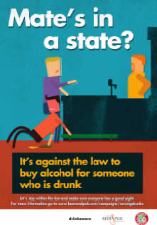 new posters set out the law on serving