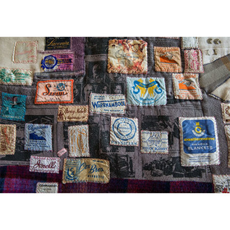 Assorted quilts from the collection of the National Wool Museum