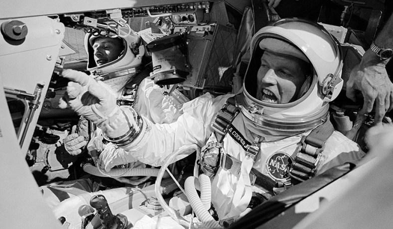 Cooper and Conrad onboard Gemini V
