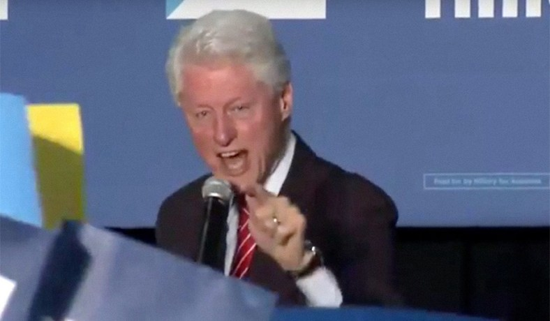 Bill Clinton's Black Lives Matter Protesters Clash over ...