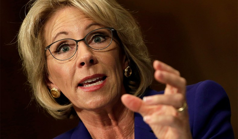 Big Worries About Betsy Devos >> Betsy Devos School Choice Is Her Solution To Education Woes