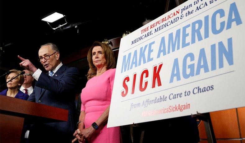 Image result for Trump makes America sick again