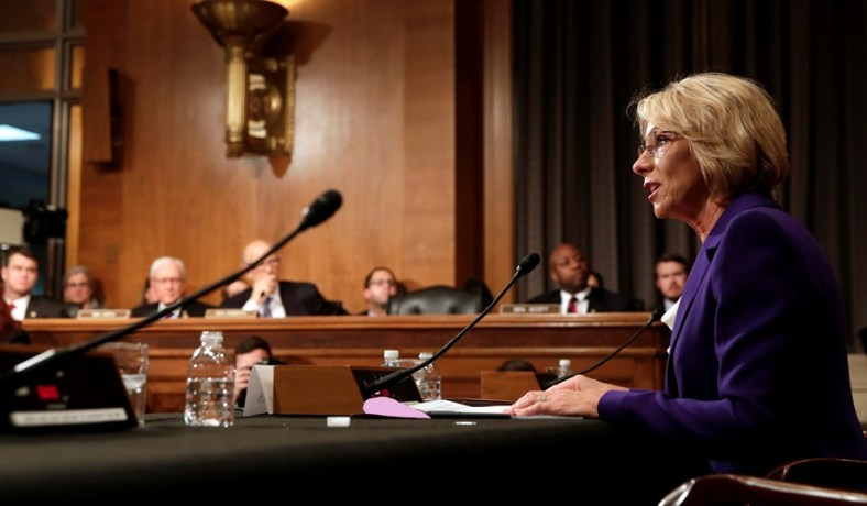 Our Next Secretary Of Education Should >> Betsy Devos Private Schools For Our Kids But Not Yours National