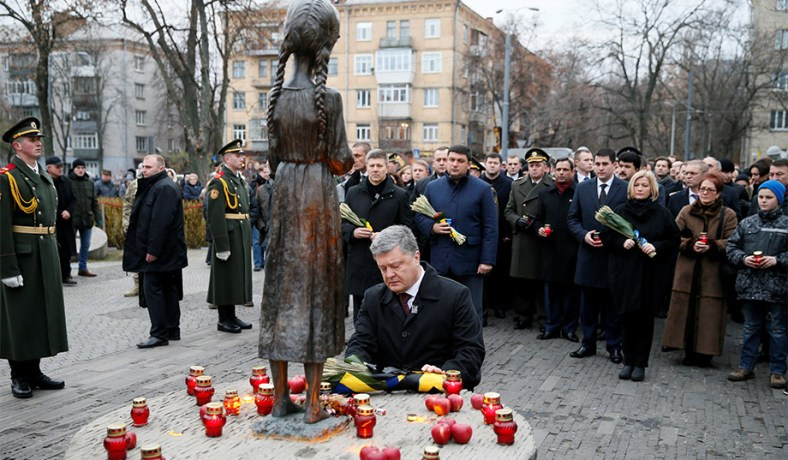 the holodomor an attack on ukrainian Scholars and politicians using the word holodomor say the man-made aspects of the famine, was a genocide some consider the huge loss of life comparable to the holocaust they argue that the soviet policies were an attack on the rise of ukrainian nationalism and therefore is a genocide.